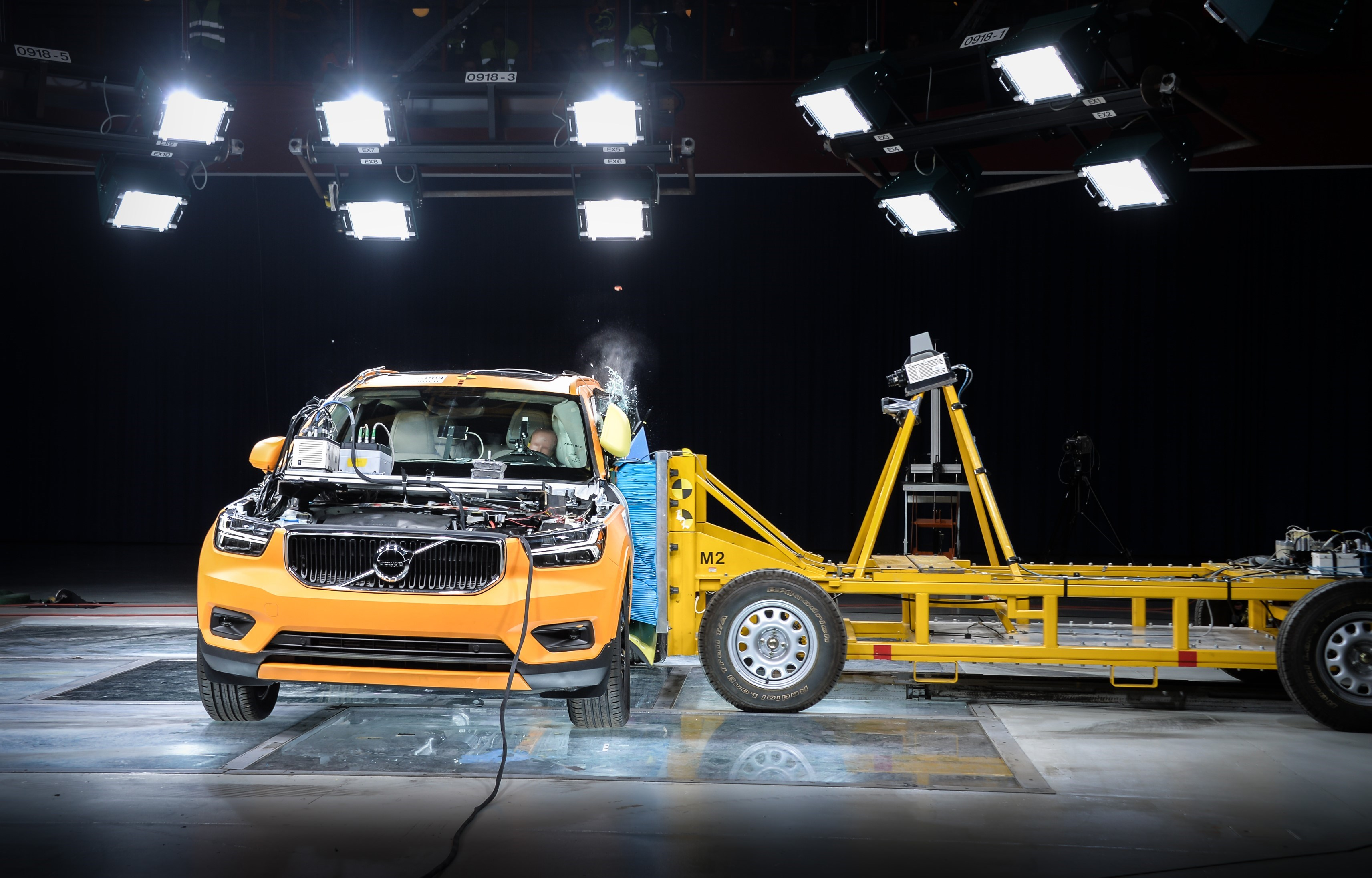 """It's a Volvo, so you can be <a href=""""https://arstechnica.com/cars/2019/03/in-1959-volvo-gave-us-the-seat-belt-heres-what-its-safety-team-is-building-now/"""">pretty sure it's going to be safe</a>."""