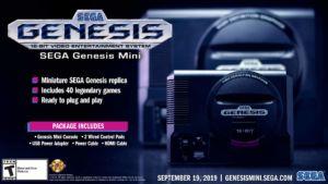 Sega Genesis Mini product image
