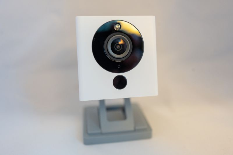 Wyze Web-connected personal surveillance camera, August 2019.