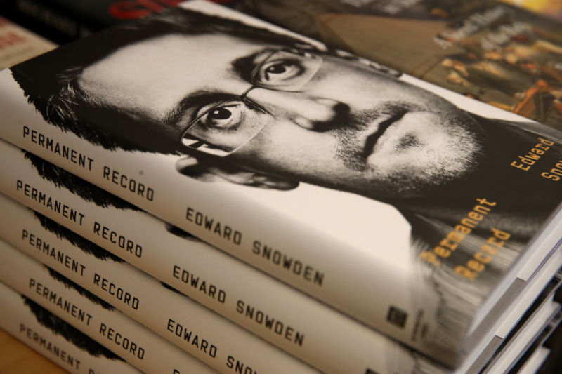 US government is entitled to all Snowden book proceeds, judge rules