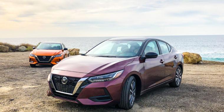 The 2020 Nissan Sentra has sharp sedan looks for a sub-$20,000 sticker