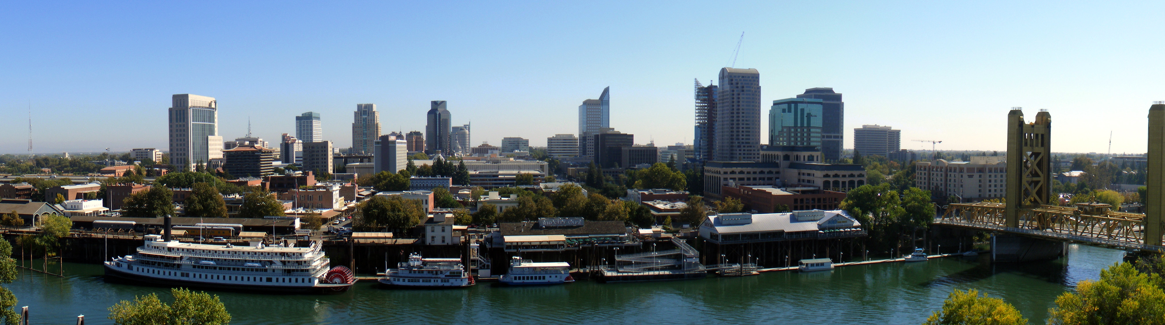 There are no 5G coverage maps of Sacramento, so here's a picture of the city's skyline instead.