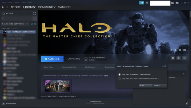 Halo MCC problemi di matchmaking
