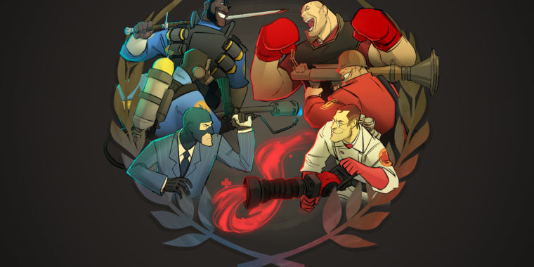 12 years later, players somehow keep Team Fortress 2 alive on the PS3