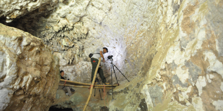 A 43,900-year-old cave painting is the oldest story ever recorded