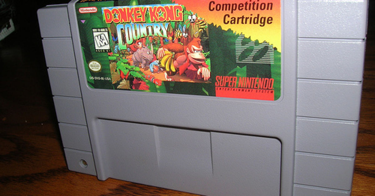 Blockbuster's game-rental business got so big that exclusive versions of games like <em>Donkey Kong Country</em> were produced just for in-store rentals and competitions.