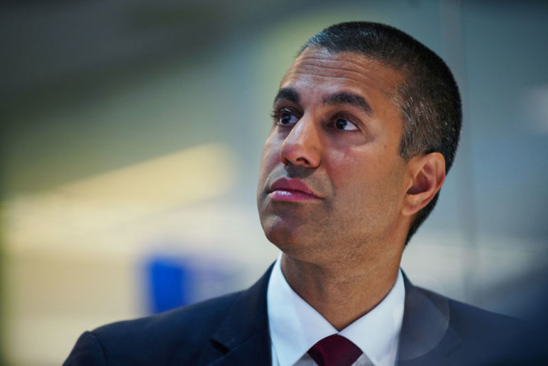 A photo of Ajit Pai.