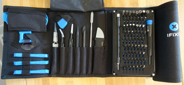 The iFixit Pro Tech Toolkit.