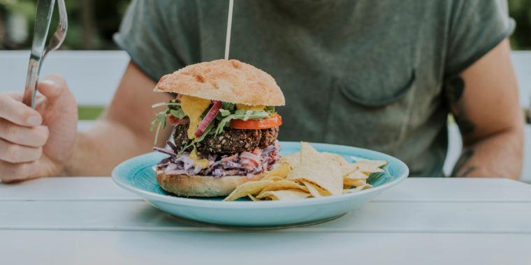 Plant-based burgers will make men grow boobs, Livestock News reports