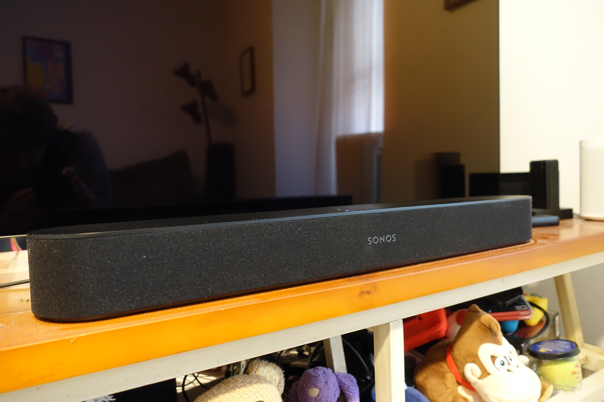 The Sonos Beam is as easy to use as any Sonos speaker, sounds great for its size, and supports voice assistants like Alexa and the Google Assistant.