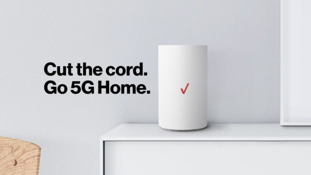 Verizon's 5G Home service.