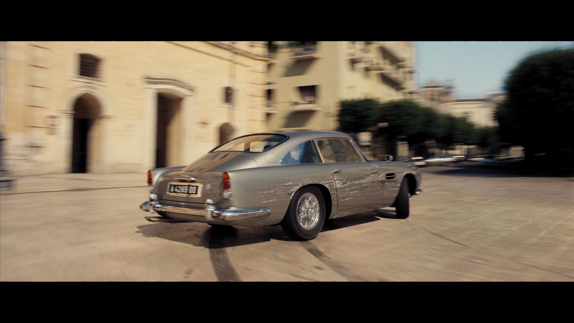 The Next Bond Film No Time To Die Mashes Up Aston Martins