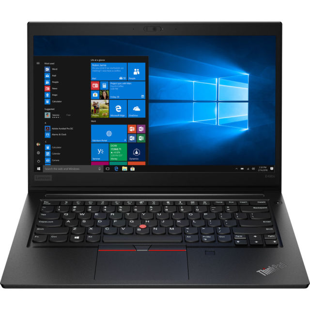 Lenovo's ThinkPad E490s.