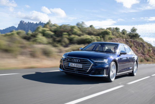 Audi's A8 is one of the first cars with lidar.