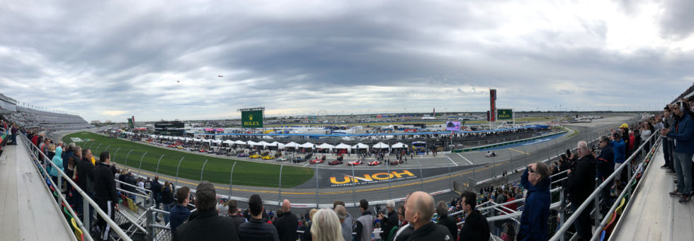 I really hope the weather for this year's Rolex 24 is better than 2019.