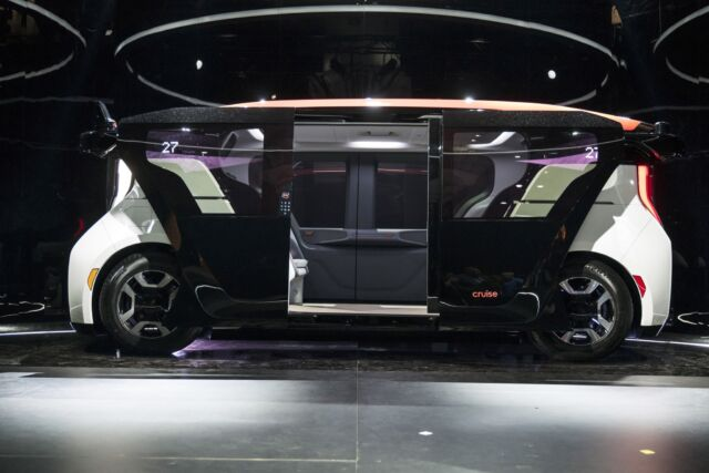 Technology Cruise, a self-driving startup owned mostly by GM and Honda, has developed the Cruise Origin, a prototype self-driving vehicle without traditional steering controls.