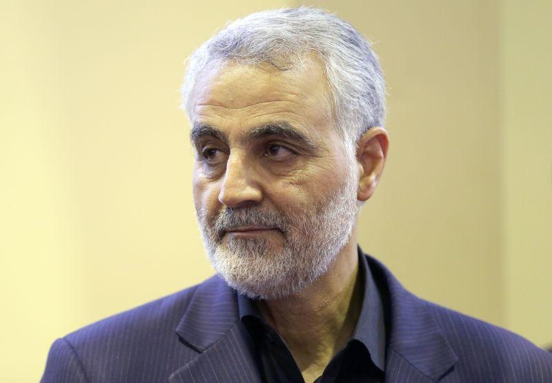 Iranian commander Qassem Soleimani in 2013.