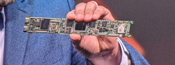 Tiger Lake mobile CPU on a small board