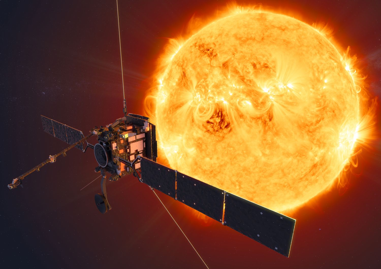 ESA's Solar Orbiter mission will face the Sun from within the orbit of Mercury at its closest approach.