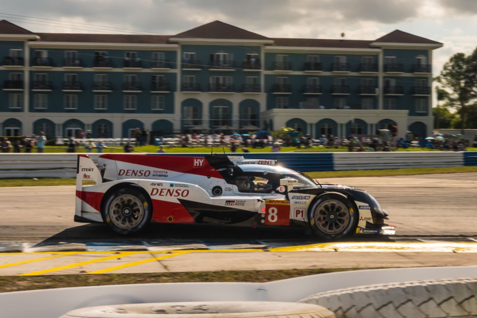The Toyota TS050 is all that's left of the once-amazing LMP1 Hybrid category, and it has been severely pegged back to allow some of the non-hybrid privateer LMP1 cars to have a fighting chance of a win in the World Endurance Championship. Will the hypercar successor to this race car also be able to run in IMSA? It's possible.