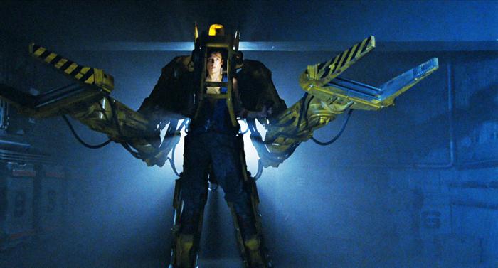 Screenshot from 1986 film Aliens.