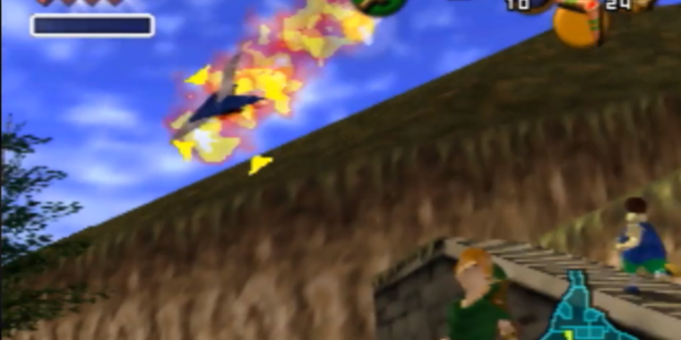 How to get Star Fox 64 ships into Ocarina of Time, no hacking required