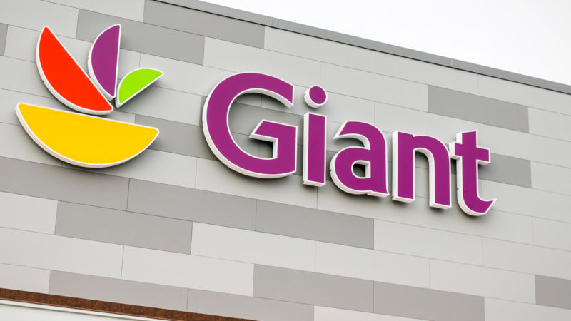 I broke Giant's handheld scanner system by only buying two things