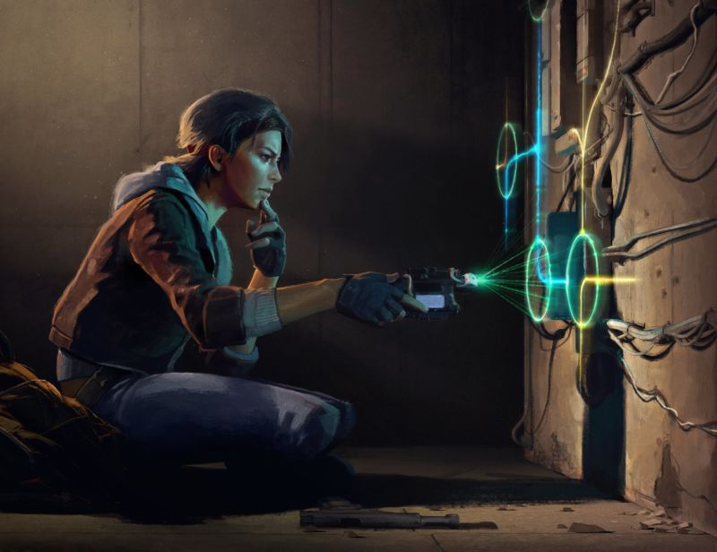"Valve released this promotional illustration for <em>Half-Life: Alyx</em> on Tuesday, thus revealing a bit more about the game's ""Multi-tool"" system we've mentioned in previous reports on the VR-exclusive game."