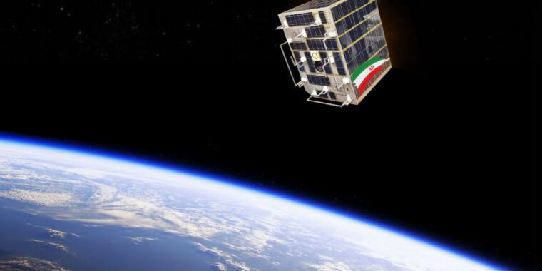 Iran preparing for the launch of two small communications satellites