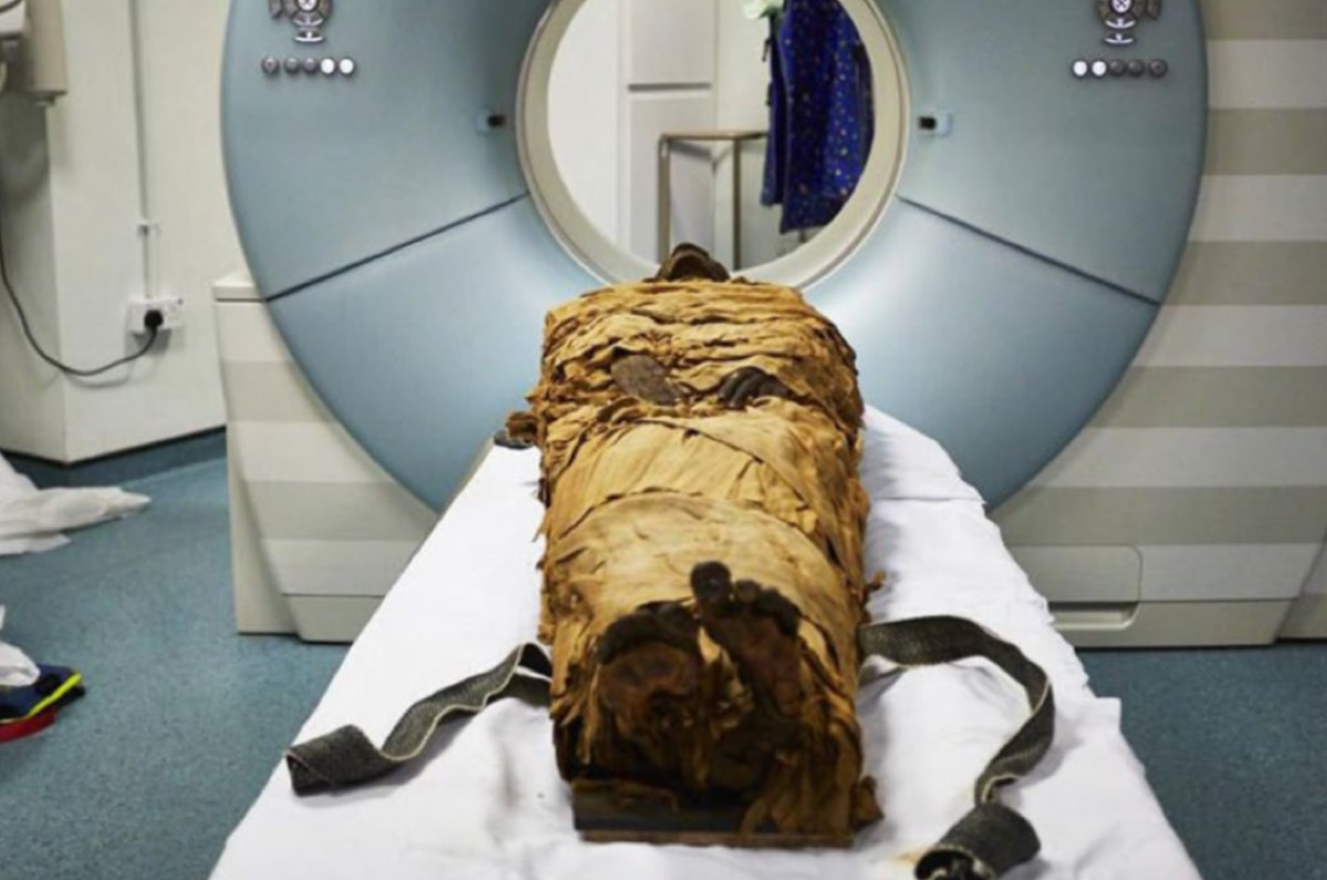 "After 3,000 years, we can hear the ""voice"" of a mummified Egyptian priest 