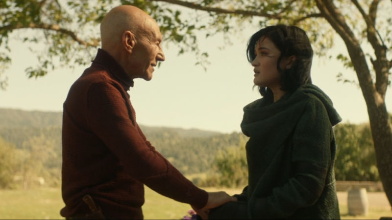 The character Picard's first impulse is to be comforting and safe. The show <em>Picard</em>'s first impulse is to slowly tear down the sense of comfort and safety the audience starts with.