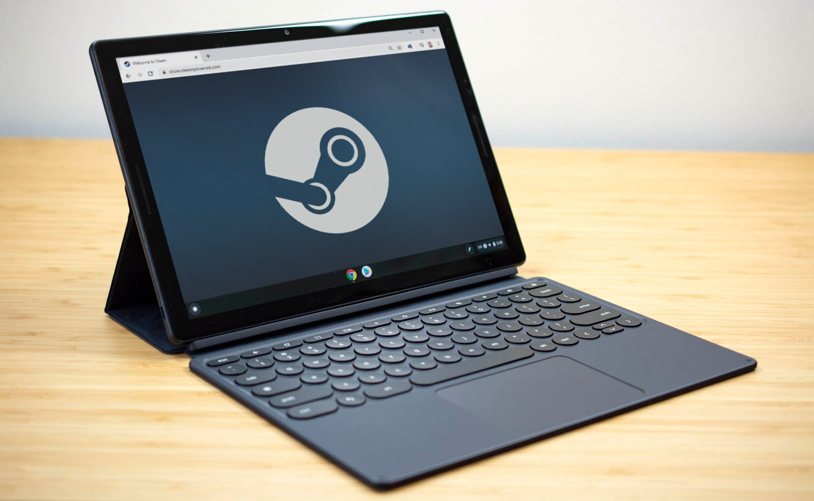 Report Google Wants To Bring The Steam Game Store To Chrome Os Ars Technica