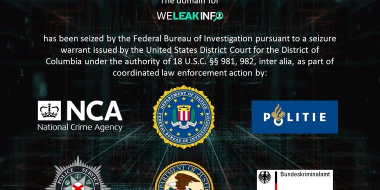 WeLeakInfo gets pwned by FBI; Dutch, N. Irish police arrest alleged breach brokers