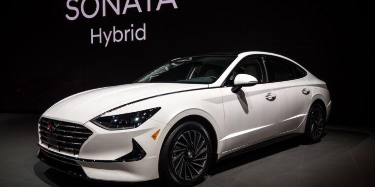 The 2020 Hyundai Sonata Now Gets A 52mpg Hybrid Version Ars Technica