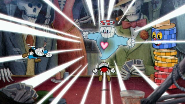 <em>Cuphead</em>is a sight to behold.