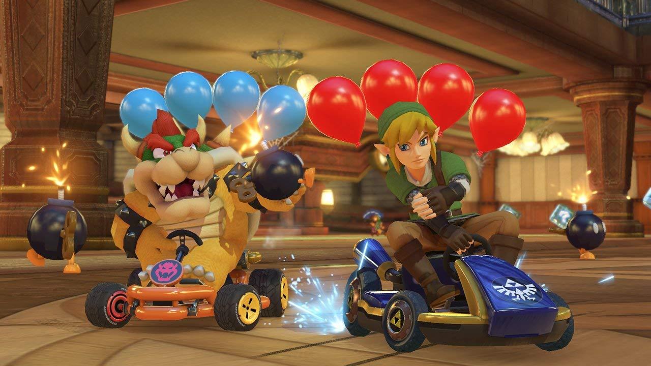 <em>Mario Kart 8 Deluxe </em>is more<em>Mario Kart</em>, and<em>Mario Kart</em>is good.