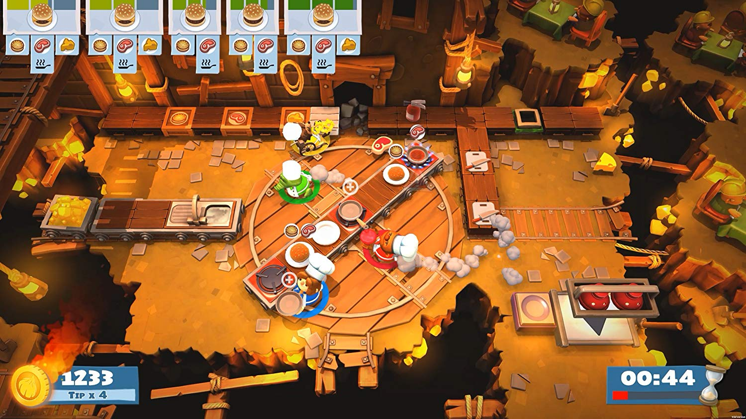 <em>Overcooked! 2 </em>will have you channeling your inner Gordon Ramsay.