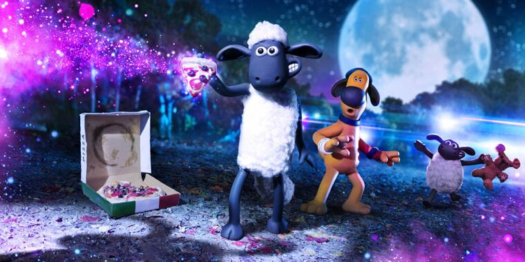 Shaun the Sheep makes friends with a stop-motion alien in Farmageddon
