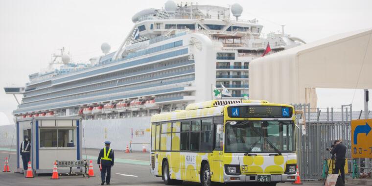 Two passengers from coronavirus-stricken cruise ship die in Japan