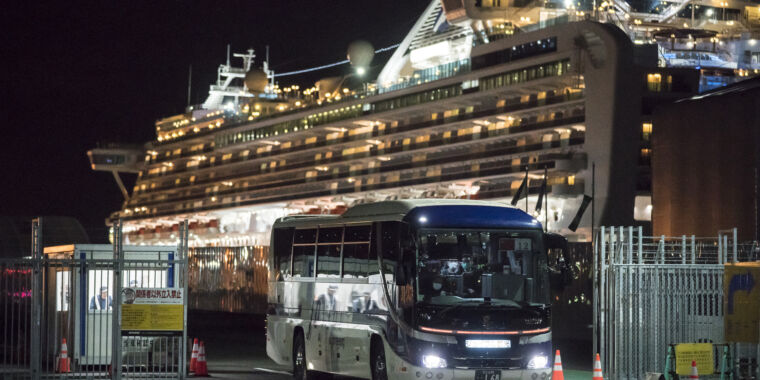 Americans on coronavirus cruise ship barred from US...