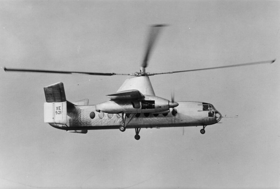 The Fairey Rotodyne, the vertical takeoff and landing airliner time forgot