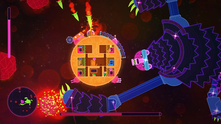 <em>Lovers in a Dangerous Spacetime</em>.