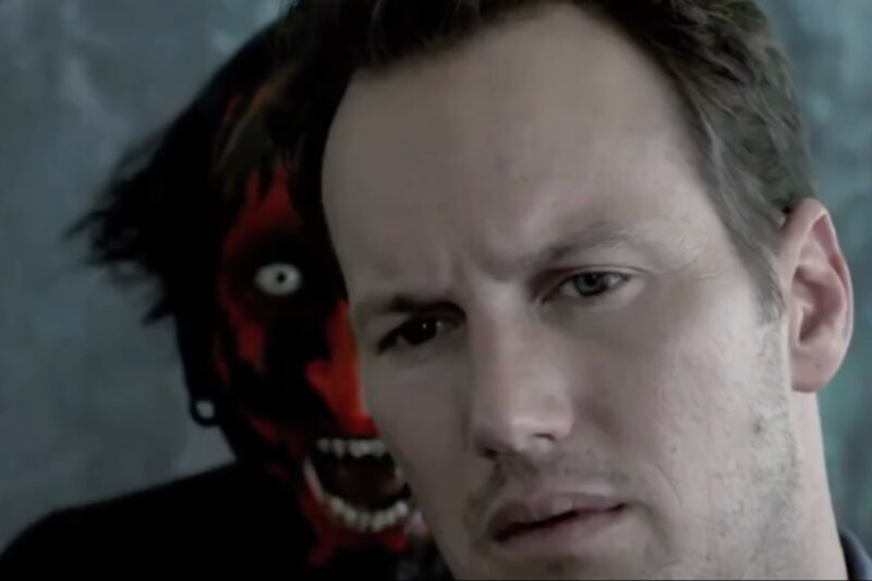 There's a demon behind you! Patrick Wilson starred in director James Wan's 2010 film <em>Insidious</em>, one of two films used in a recent MRI study on fear.