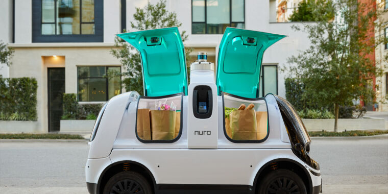The feds just blessed a custom self-driving vehicle for the first time