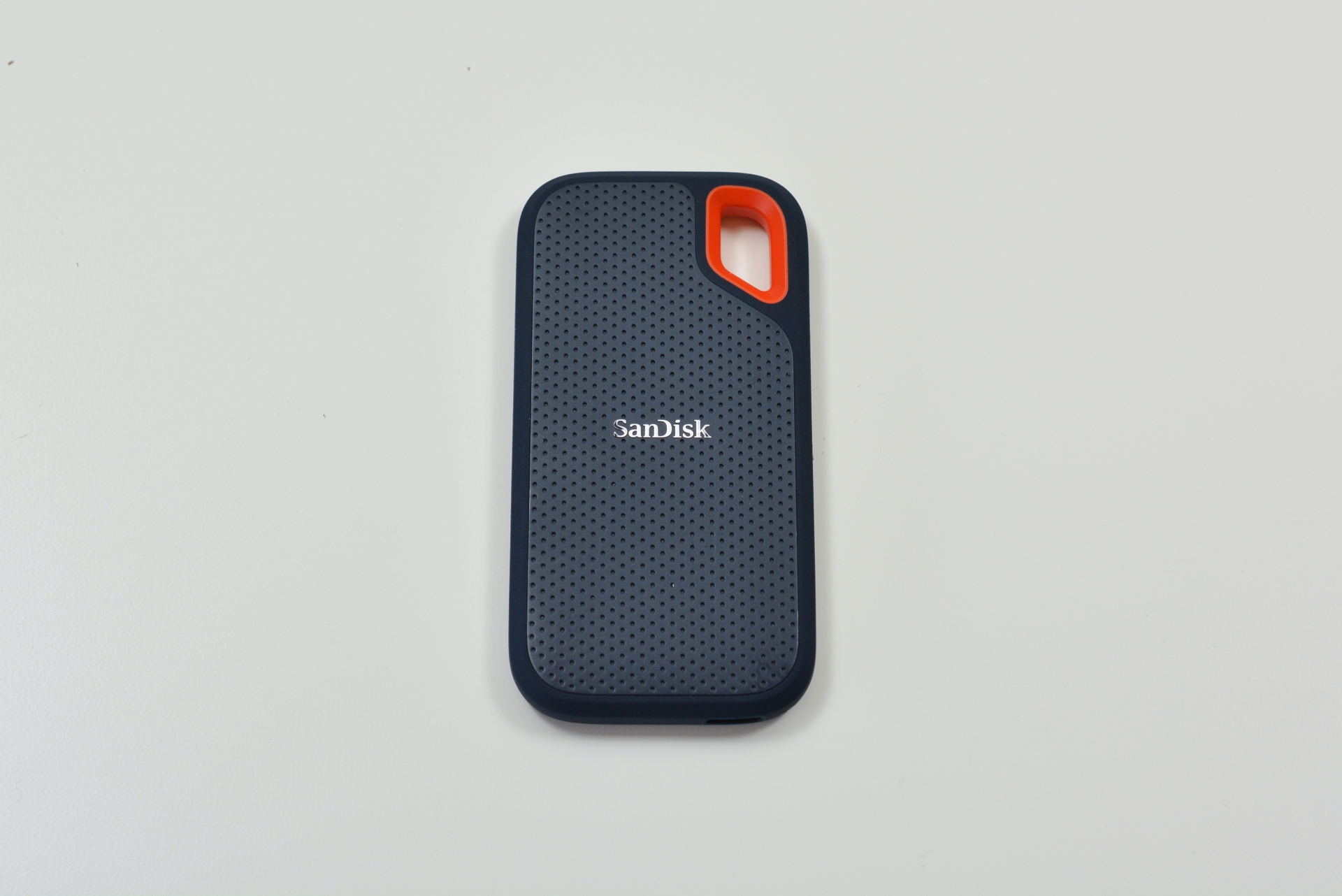 The SanDisk Extreme portable SSD.