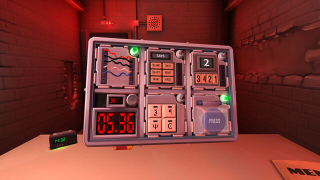 <em>Keep Talking and Nobody Explodes</em>will get you and your partner panicking, in a good way.
