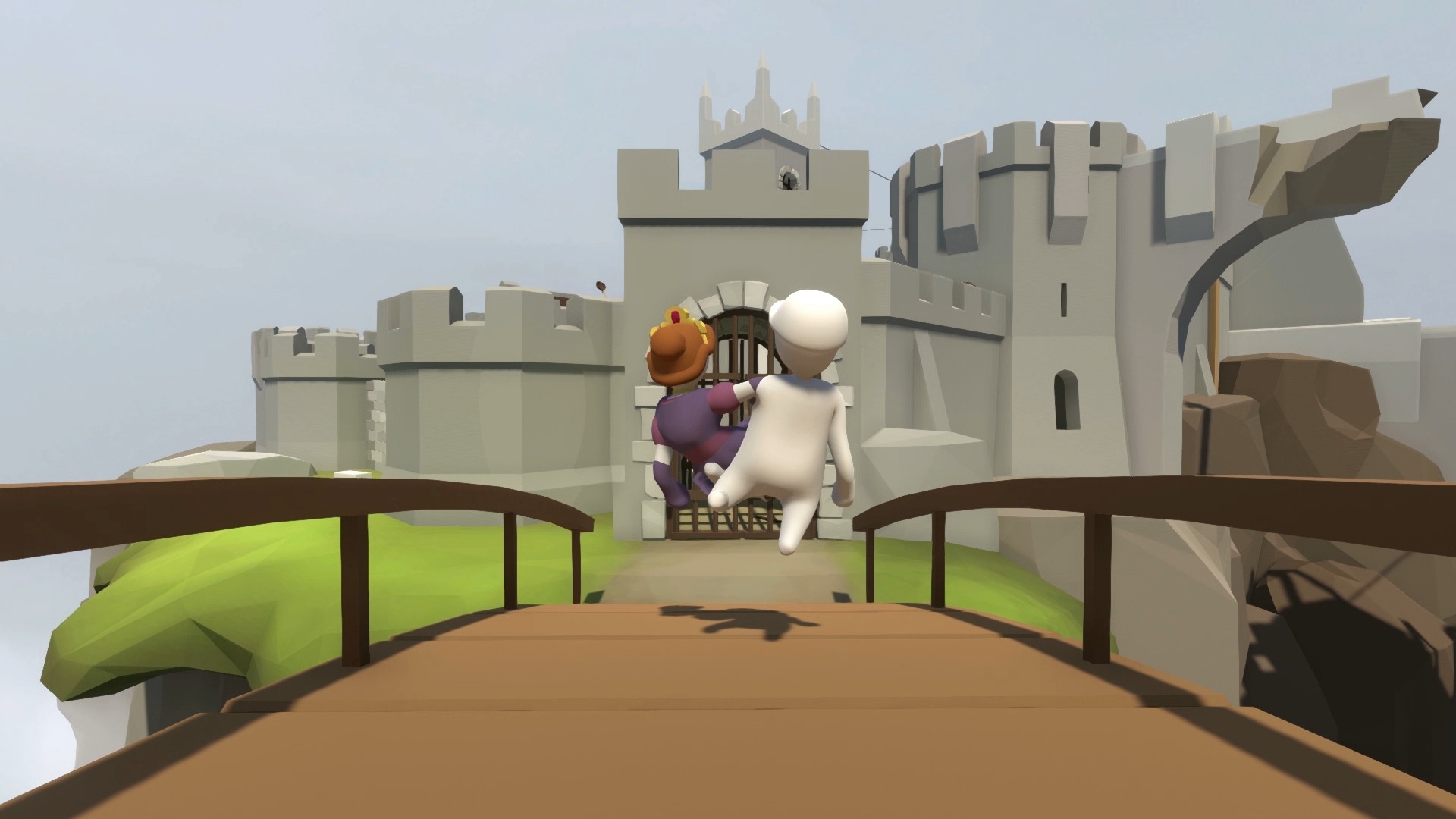 In <em>Human: Fall Flat</em>, you are a sort-of human who will frequently fall flat.