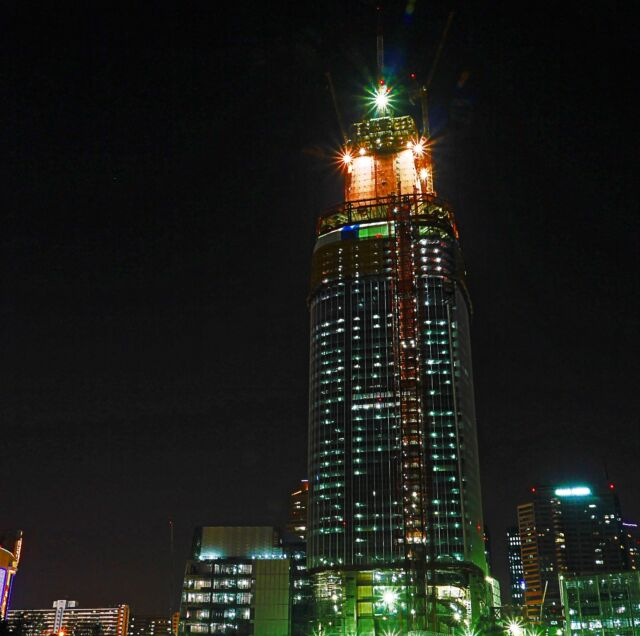 Lotte World Tower in Seoul is the 6th-tallest building in the world.