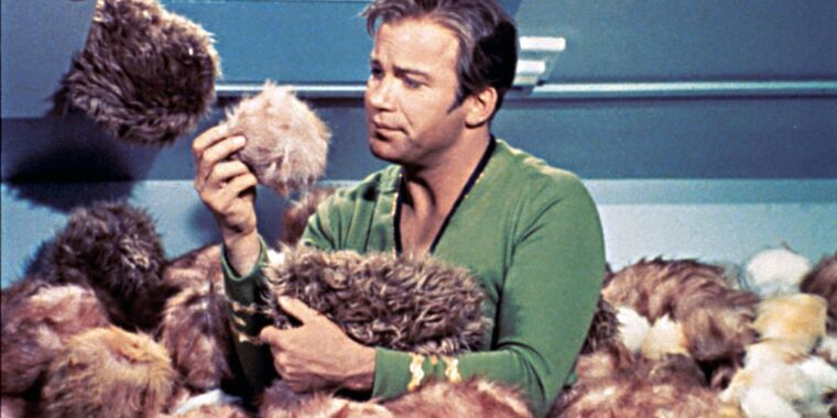 Physics undergrads crunched numbers for Star Trek's tribble problem