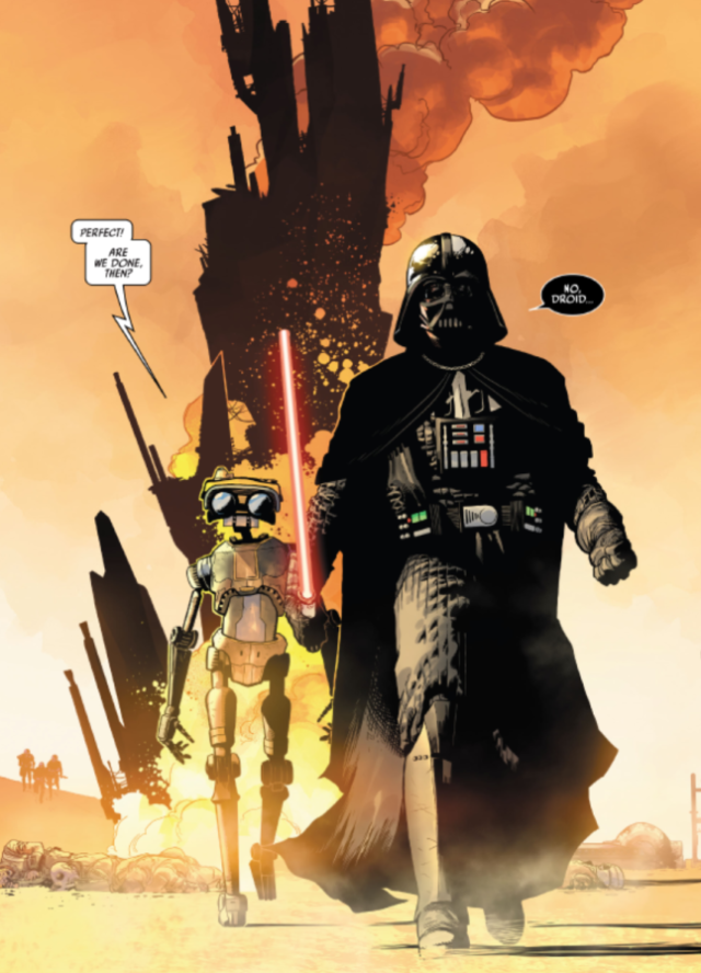 The Next Wild Star Wars Twist Has Emerged In A Darth Vader Comic Ars Technica